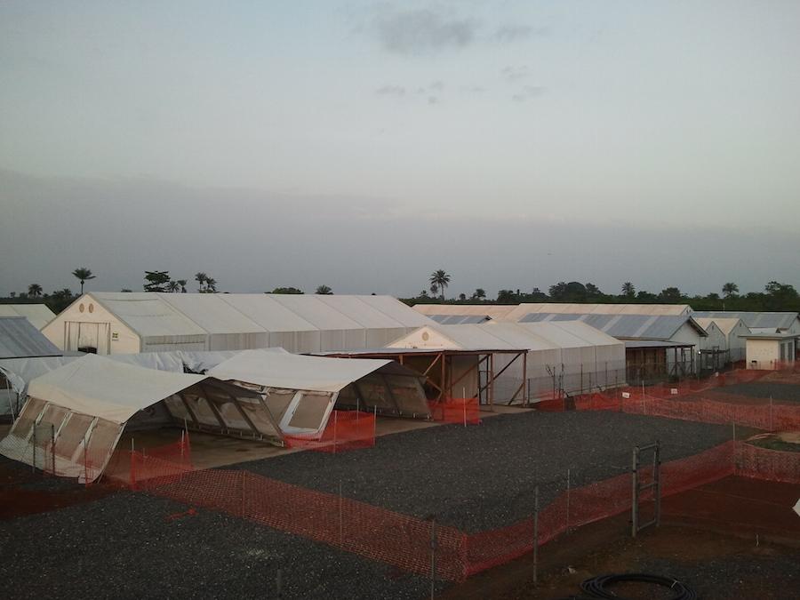Centro de tratamiento de Ebola de Moyamba