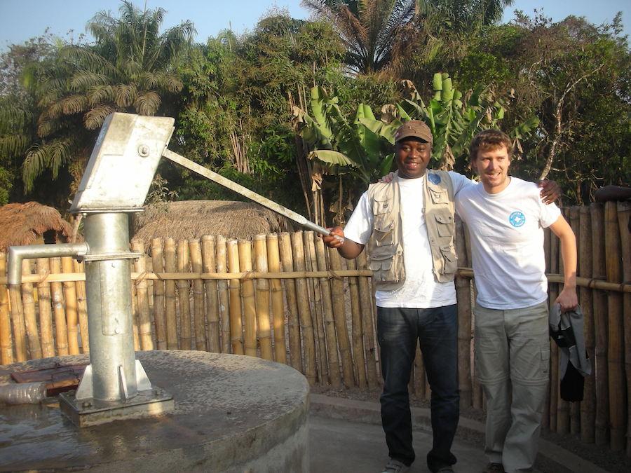 Revisión construcción Pozos en Nieni. Koinadugu
