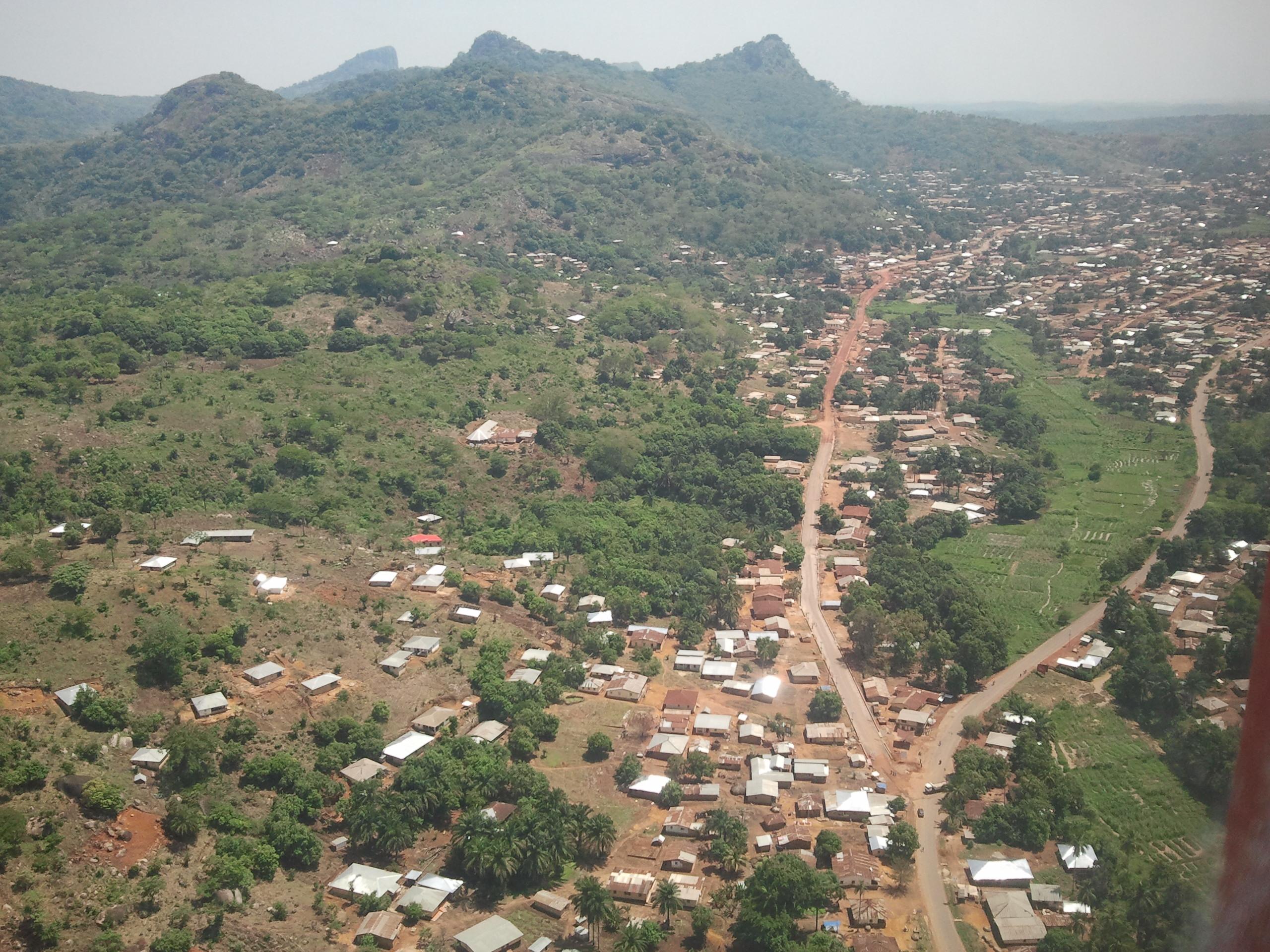 Kabala, Distrito de Koinadugu.